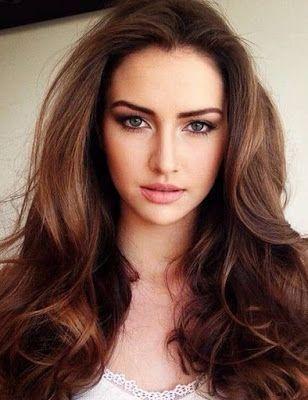 Foto Warna Rambut Coklat Kemerahan Hair Color Auburn Brunette Hair Color Blue Ombre Hair