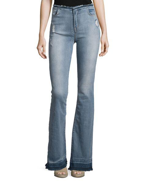 5ba66c1d75390 J Brand Jeans Maria High-Waist Flare Jeans