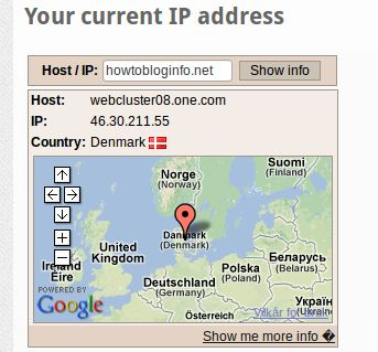 find location of an ip