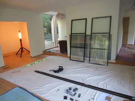 Sliding Door Panels (for interior space)