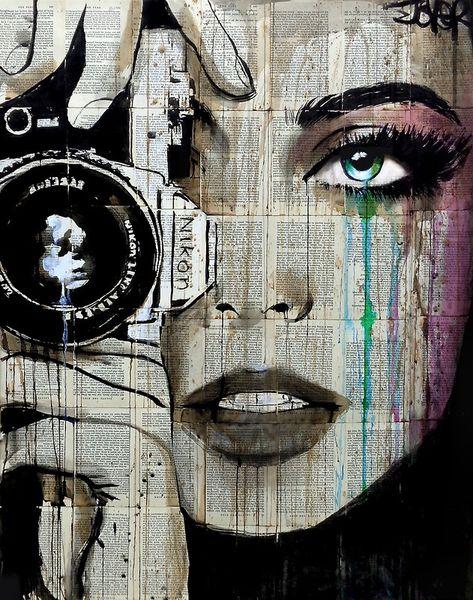 """zoom"" Art Prints by Loui Jover | Redbubble - Loui Jover / Debbye Reis Collection"