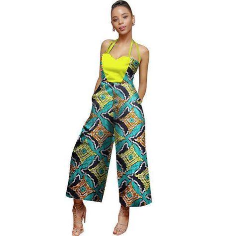 List Of Pinterest Ankara Jumpsuit Plus Size Woman Dresses Images