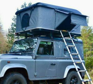 Roof Cabin Hard Shell Car Roof Tent Uk Fit S All Vehicles Land Rovers 4x4 S Ebay Roof Tent Land Rover Car Tent