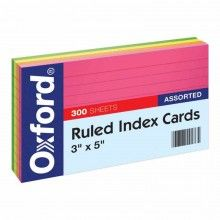 printer for index cards