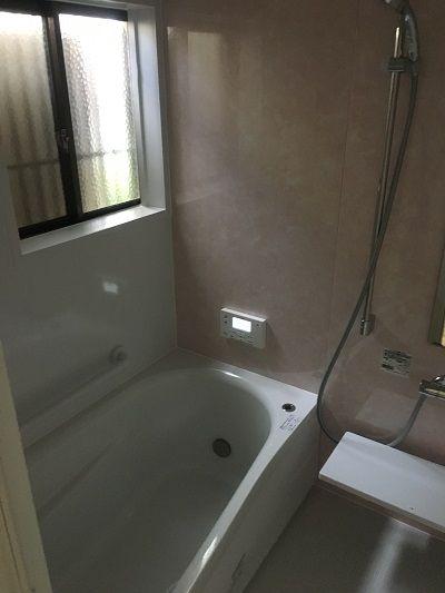 お風呂のリフォーム Totoのシステムバス サザナ 1317サイズになります お風呂 リフォーム お風呂 風呂 リフォーム