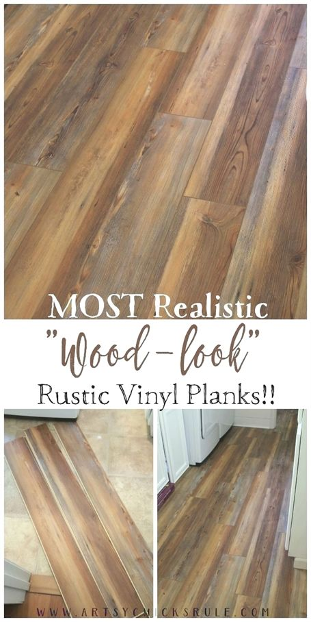 Farmhouse Vinyl Plank Flooring Most Realistic Wood Look