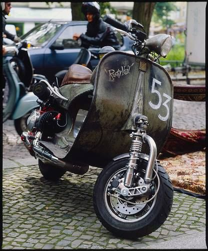 Vespa Ratted 53