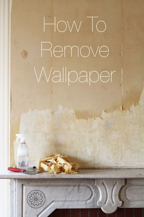 How To Remove Wallpaper | Apartment Therapy