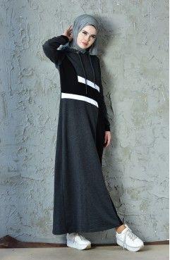 Sefamerve Genc Tesettur Spor Elbise Modelleri Elbise Modelleri Elbise The Dress