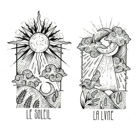 LE SOLEIL - LA LVNE