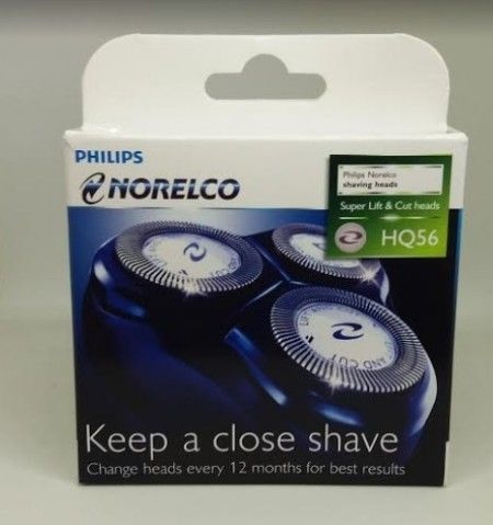 Philips Norelco Hq56 Reflex Plus And Micro Action Electric Razor Replacement Heads Philips Close Shave Micro