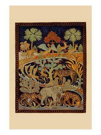 Animal Tapestry Posters Needlecraft Magazine Allposters Com Tapestry Art Magazine Wall Art Posters Art Prints