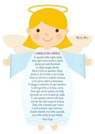 Poesie Di Natale Per Le Maestre.Poesie E Filastrocche Di Natale Scuola Natale Bambini