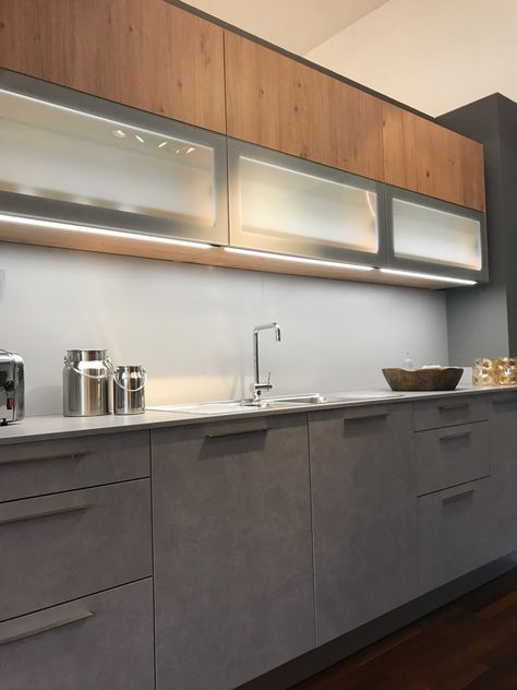 Küche in Betonoptik Küchenideen Pinterest Haus - sockelleisten für küchen
