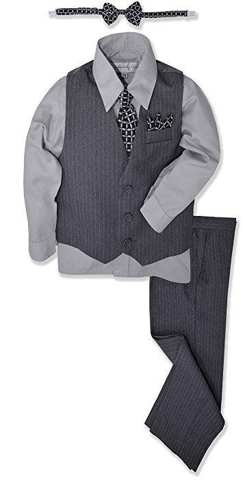 3 Sizes White Newsboy Cap w//Lito Mini Clip-On Bow Tie Born to Love Baby Boy