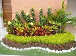Resultado De Imagen Para Jardines Pequenos Con Piedras De Rio Paisajismojardinespatio Disenodejardines Jardines Jardineria Diseno De Jardin