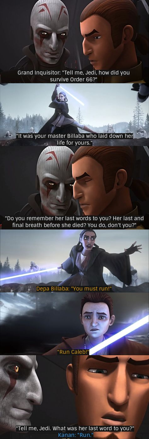 Kanan Jarrus and Jedi Master Depa Billaba