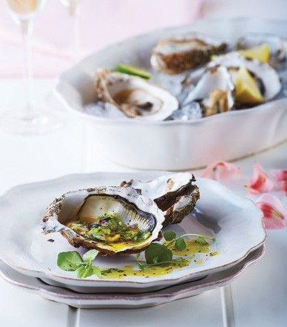 Ostiones kumamoto en escabeche #Restaurante Rosetta Chef Elena ...