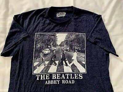 The Beatles Abbey Road 2xl T Shirt Rare Paul Mccartney John Lennon Ringo Starr Fashion Clothing Shoes Access In 2020 Ringo Starr Paul Mccartney Beatles Abbey Road