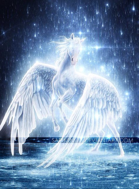 Fairies, dragons and other mythological creatures community FB Magical Horses, Fantasy, Mystical Animals, Fantasy Artwork, Mythical Animal, Fantasy Art, Mythical Creatures, Pegasus, Unicorn And Fairies