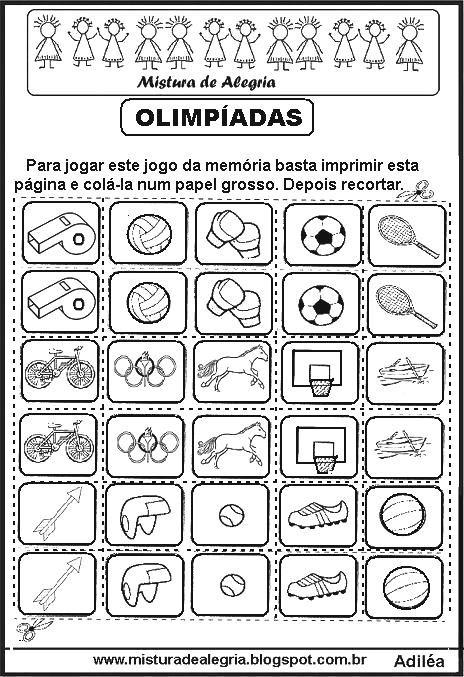 Jogo Da Mem C3 B3ria Olimpiadas Imprimir Colorir Jpg 464 677