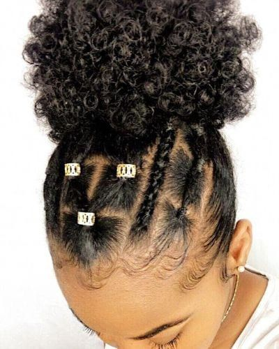 Easy Rubber Band Hairstyles On Natural Hair Worth Trying Coils And Glory In 2020 Protective Hairstyles For Natural Hair Girls Natural Hairstyles Girl Hairstyles