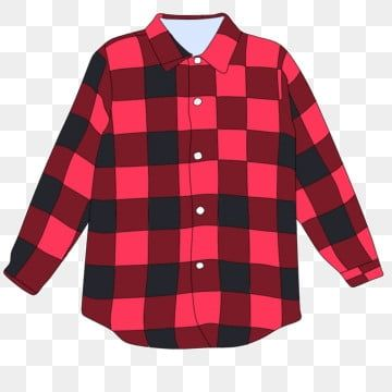 Camisa Ropa Cuadros Dibujados A Mano Camisa De Imagenes Predisenadas Camisa Ropa Png Y Psd Para Descargar Gratis Pngtree Red Plaid Shirt Red Outfit Shirt Clipart