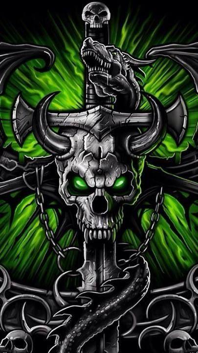 Go To Link To See Animation Skull Wallpaper Iphone Skull Art Skull Wallpaper