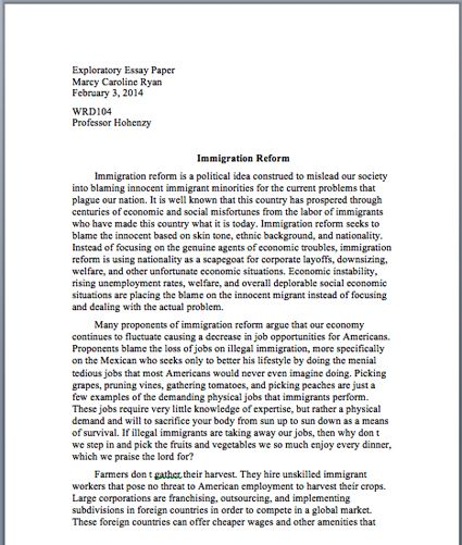 Riting The Body Of A Research Paper Essay Examples Essay Digital Writing