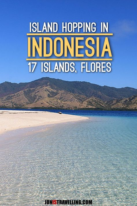 Off the beaten path island hopping in Indonesia -- the 17 Islands Marine Park, just off the coast of Flores, is an untouched paradise full of amazing beaches.: