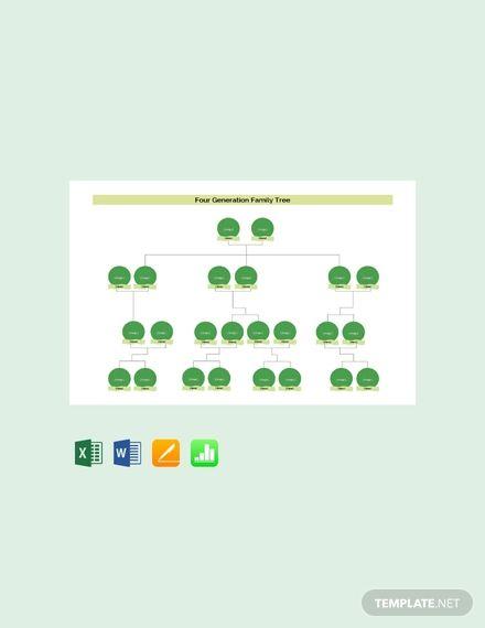 61 Free Family Tree Templates Pdf Word Excel Google Docs