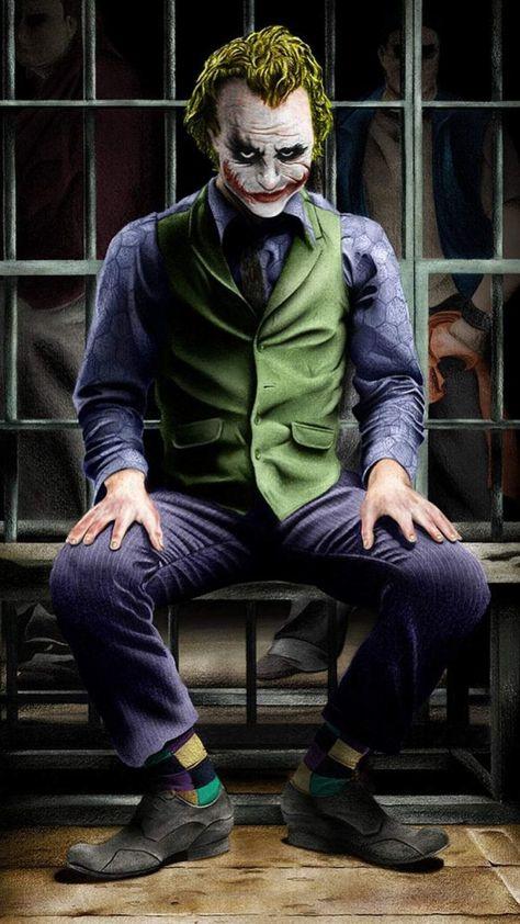 Joker Evil Smile - iPhone Wallpapers