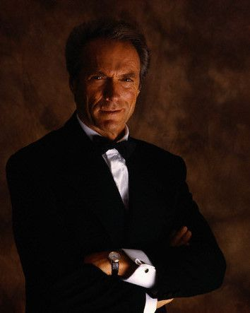 Clint Eastwood. Hard to resist a man in a tux!