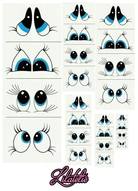 Clay Pot Crafts, Rock Crafts, Fall Crafts, Christmas Crafts, Arts And Crafts, Cartoon Eyes Drawing, Cartoon Faces, Diy Projects For Adults, Art Projects