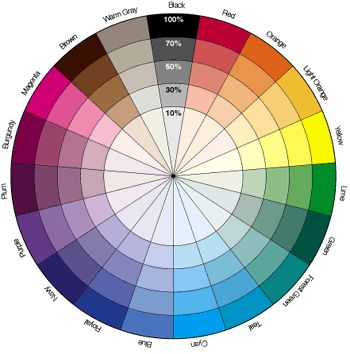 The Color Wheel Makeup Color Wheel Colorful Eyeshadow Colours That Go Together