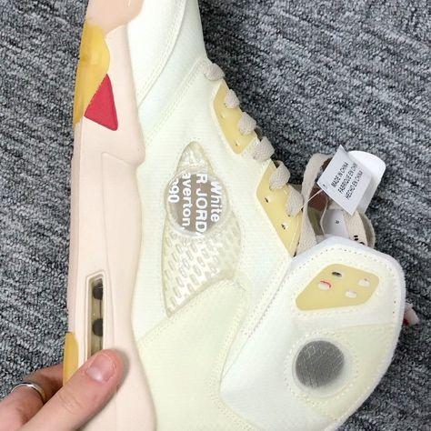 Air jordan 5  off white Ice Cream ❤️#sneakers #repkicks #converse #customer #shoes👟 #jumpman #nikesb #nikeshoes #nikerunning #airjordanshoes #kick #kickboxing #adidasshoes #yeezy #kickplus