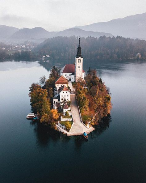 Lake Bled and Bled Island, Slovenia, are a photographer's paradise where you'll find natural beauty and man-made wonders Places To Travel, Places To Visit, Bled Slovenia, Slovenia Travel, Beautiful Places, Beautiful Pictures, Destinations, Lake Bled, Nature Adventure