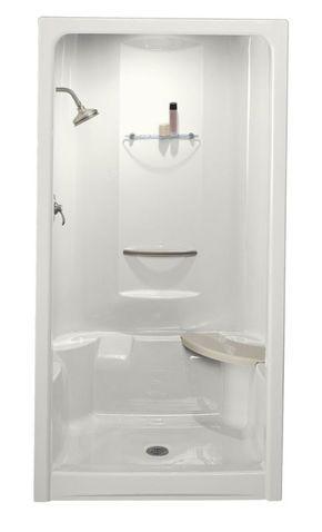 Kohler K 1687 One Piece Shower Fiberglass Shower Stalls One