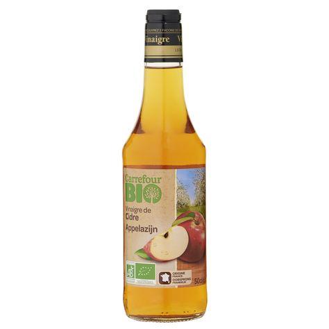 Vinaigre Bio De Cidre Carrefour Bio Bio Bouteille Et Produit Bio
