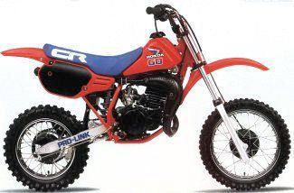 1985 Honda Cr60r Vintage Motocross Vintage Bikes Motocross Bikes