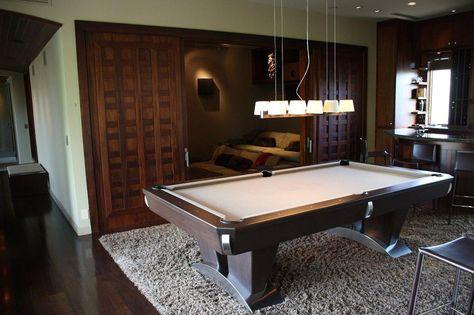 sleek, modern pool table | porch loves pets | pinterest | modern