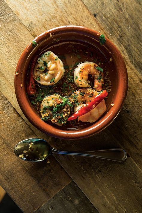 Chile-Garlic Shrimp Recipe - Saveur.com