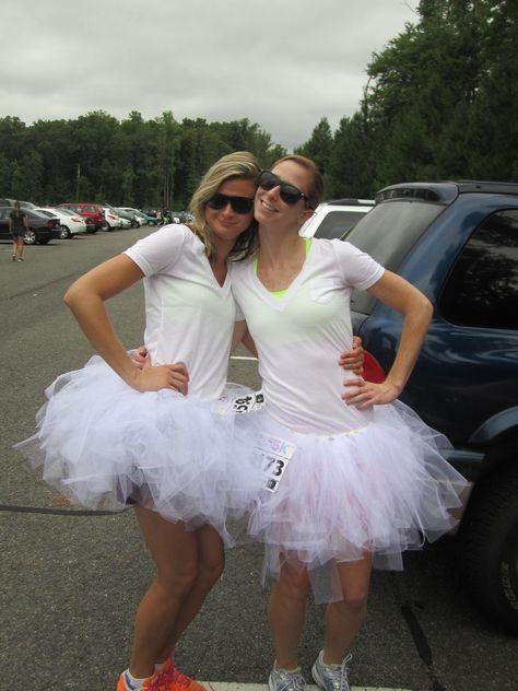 Color Me Rad 5K (Before). @Aliese Jantzen @Julie freeman @Andrea Ruiz we need these outfits!!