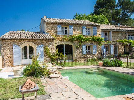 102 best Maison images on Pinterest Country homes, Stone houses - location vacances provence avec piscine