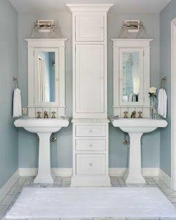 27+ Bathroom vanity cabinet for pedestal sink ideas