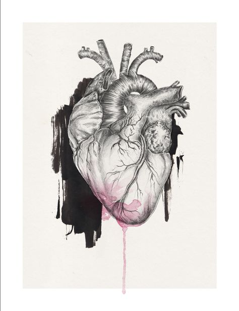 i heart u | A3 size