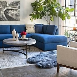 Round Coffee Table Living Spaces 8