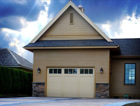 Beautifully Hidden Highly Functional Korthius Rv Lift Strap Bi Fold Garage Door By Schweiss Garage 101 Rv Garage Diy Garage Plans Garage Doors