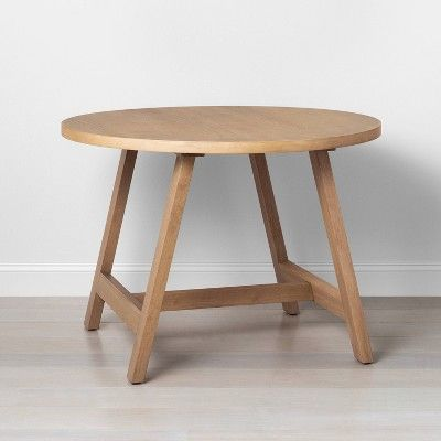 Round Kitchen Table Hearth Hand With Magnolia In 2020 Round