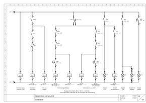 Schema Inverseur De Source Automatique Schneider Schema Schema Electrique Tableau Electrique Triphase